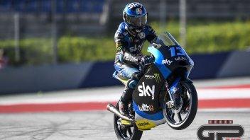 Moto3: FP3: Le bandiere gialle cancellano il record di Arbolino, Vietti 1°