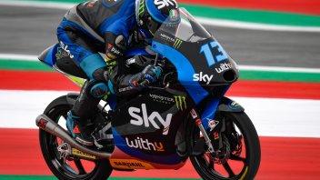 Moto3: Vietti si prende il warm up del Red Bull Ring,6° Migno
