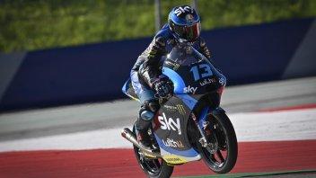 Moto3: FP1: Vietti davanti a tutti con caduta, 4° Arbolino