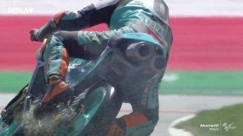 Moto3: Masia inonda di olio la pista, squalificato dalle Q2