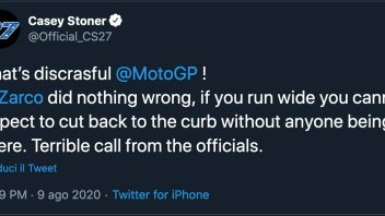 """MotoGP: Stoner's with Zarco: """"Terrible call from the officials"""""""