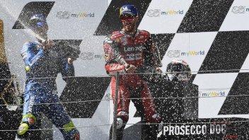 """MotoGP: Dovizioso: """"Nei miei pensieri non c'è Ducati, ma solo il titolo"""""""