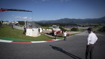 MotoGP: PHOTO - Red Bull Ring: the new protection barriers at Turn 3