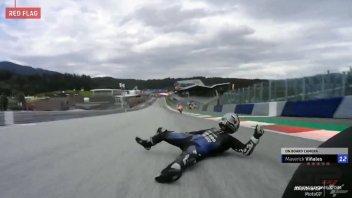MotoGP: Maverick Vinales, no brakes: launches himself from his Yamaha at 220 Km/h