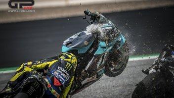 """MotoGP: Rossi: """"Zarco? Un pilota non può permettersi errori così gravi"""""""