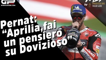 "MotoGP: Pernat: ""Aprilia, fai un pensiero su Dovizioso"""