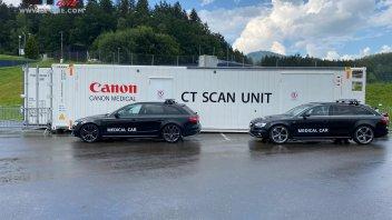 MotoGP: Un camion TAC a disposizione dei piloti al Red Bull Ring