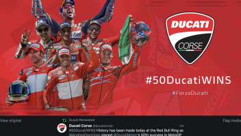 MotoGP: Ducati fmakes history with the 50th victory at the Red Bull Ring