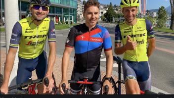 MotoGP: Jorge Lorenzo con Vincenzo Nibali su due ruote...ma in bici