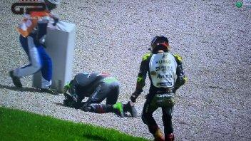 """MotoGP: Zarco: """"A Rossi e Morbidelli ho detto che non sono un pazzo"""""""