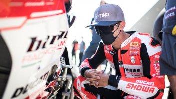 """SBK: Melandri: """"Whatever I do on the Ducati doesn't work"""""""