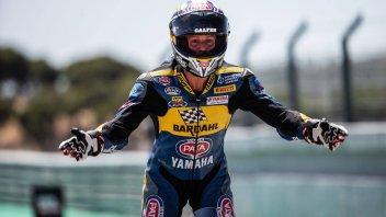 """SBK: Locatelli: """"Il prossimo anno voglio essere con Yamaha in SBK"""""""
