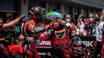 """SBK: Davies: """"Was I born again? No, I was on the podium again last year too."""""""
