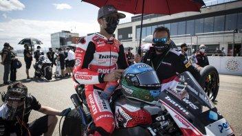 """SBK: Melandri: """"Non riuscivo a frenare e curvare con la Ducati"""""""