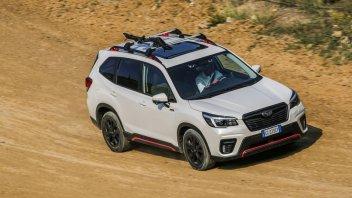 Auto - News: Subaru Forester 4DVENTURE: l'avventura, viaggia su quattro ruote