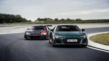 Auto - News: Nuova Audi R8 green hell: edizione limitata e 620 CV di potenza