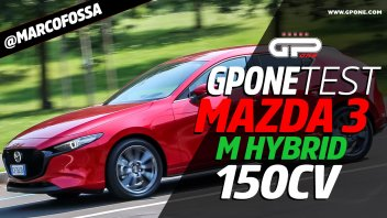 Auto - Test: Prova Mazda 3: Skyactiv-G da 150 CV e sistema Mild-Hybrid