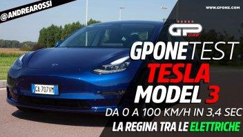 Auto - Test: PROVA Tesla Model 3: la regina delle elettriche