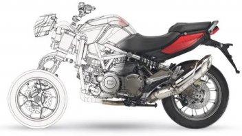 Moto - News: Aprilia: in arrivo (forse) l'anti Yamaha Niken in salsa Veneta