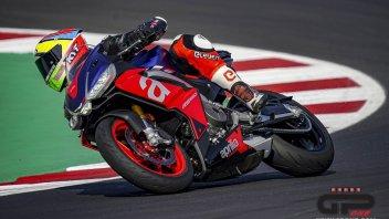 """Moto - News: I piloti Aprilia a Misano con la RS 660: """"maneggevole e divertente"""""""