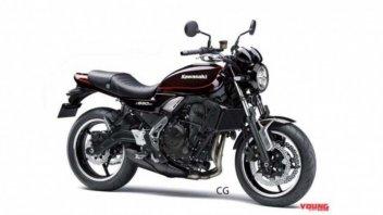 Moto - News: Kawasaki, il successo della 900 porterà una sorella Z650RS?