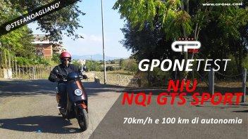 Moto - Test: Prova NIU NQi GTS Sport: lo scooter con doppia batteria