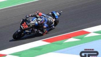 Moto2: GP Misano: Bezzecchi e Marini al comando, 8° Bastianini