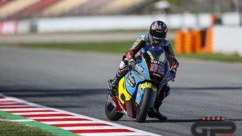 Moto2: Barcellona: Sam Lowes si impone nelle FP3, 3° Marini, cade Bastianini