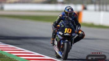 Moto2: Marini perfetto a Barcellona: pole e record della pista