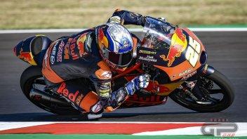 Moto3: Misano, FP1: Fernandez sfiora il record, 2° Alcoba e 3° Foggia