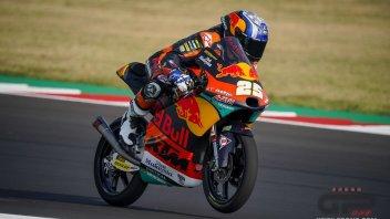 Moto3: Misano: Fernandez in pole, rovina la festa ad Arbolino e Migno
