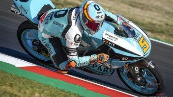Moto3: FP2: Masia frantuma il record di Misano, 3° Celestino Vietti