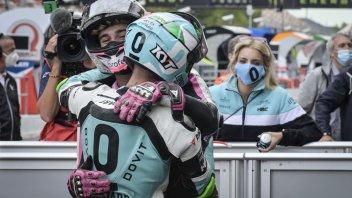 """Moto3: Arbolino: """"Un podio perfetto, devo mantenere la concentrazione"""""""