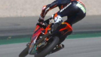 Moto3: FP2: Fernandez fa il rodeo a Barcellona e resta 1° di giornata