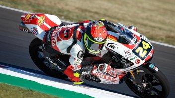 Moto3: FP2: Suzuki fa sorridere il team SIC58, 4° Migno