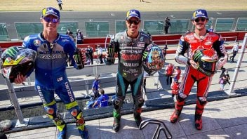 """MotoGP: Morbidelli: """"First with my head in the clouds, with Rossi third it would have been a perfect GP"""""""