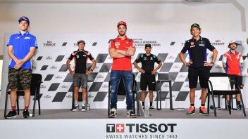 """MotoGP: Dovizioso su Domenicali: """"Non una buona idea scrivere su Twitter"""""""