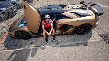 MotoGP: Bagnaia, una Lamborghini Aventador da 470k per brindare al podio di Misano