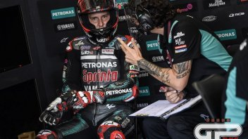 "MotoGP: Quartararo says Race Direction didn't warn him before the long lap penalty"""
