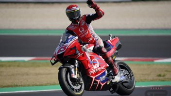 MotoGP: FP3 Misano 2: Bagnaia fa il record, Rossi entra in Q2. Dovizioso precipita in Q1