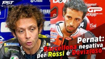 """MotoGP: Pernat: """"Barcellona negativa per Rossi e Dovizioso"""""""