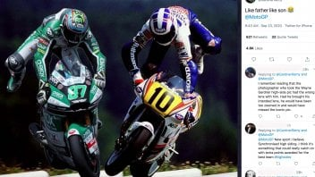 MotoGP: Gardner: such the father, such the son, synchronized highside