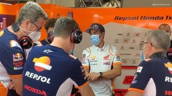 """MotoGP: Marquez: """"Ho un meeting con la Honda, iniziamo a lavorare per il 2021"""""""