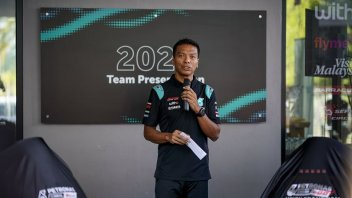 """MotoGP: Razali: """"It was a relief to have signed with Valentino Rossi"""""""