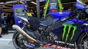 MotoGP: Test Misano: Valentino Rossi prova il nuovo scarico sulla Yamaha