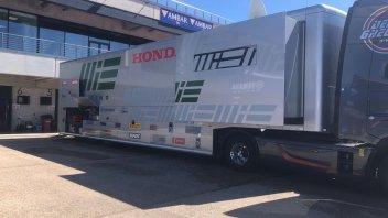 SBK: Cambio di guardia ad Aragon: ecco il nuovo bilico di MIE Racing