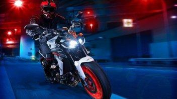 Moto - News: Yamaha MT-09 2021: con l'euro 5 salgono cilindrata e potenza