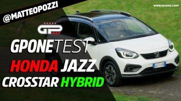 Auto - Test: Prova Honda Jazz Crosstar Hybrid: dettagli e consumi dell'ibrida senza cambio