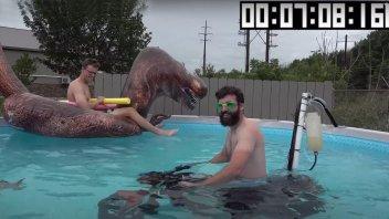 Moto - News: Moto sott'acqua? Ecco il video di uno strano esperimento