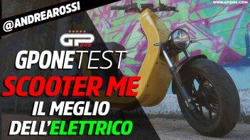 Moto - Test: Prova ME: la Tesla degli scooter elettrici